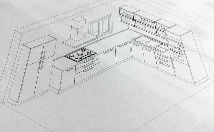 modello cucina
