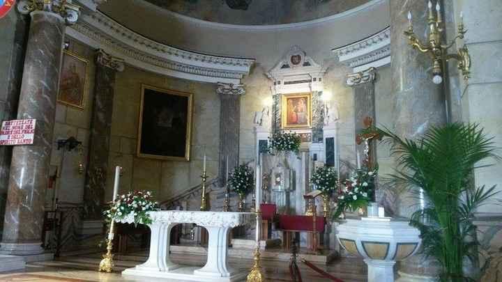 la chiesa dove abbiamo coronato il nostro sogno