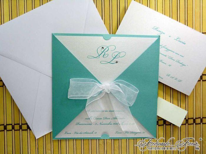Partecipazioni Matrimonio Azzurro Tiffany : Le mie partecipazioni prima delle nozze forum