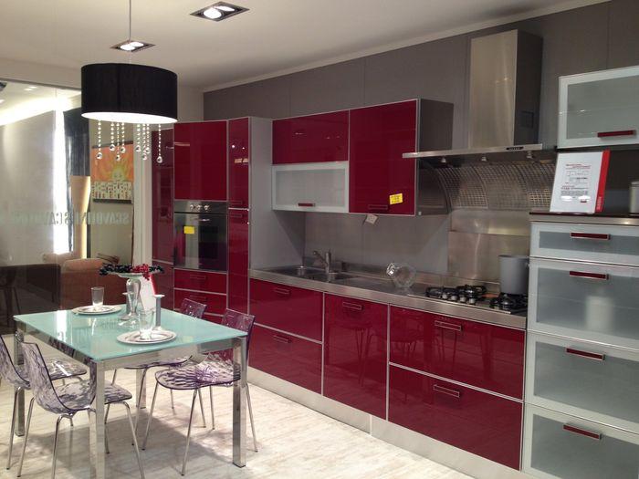 La scelta della cucina vivere insieme forum - Cucina rossa scavolini ...