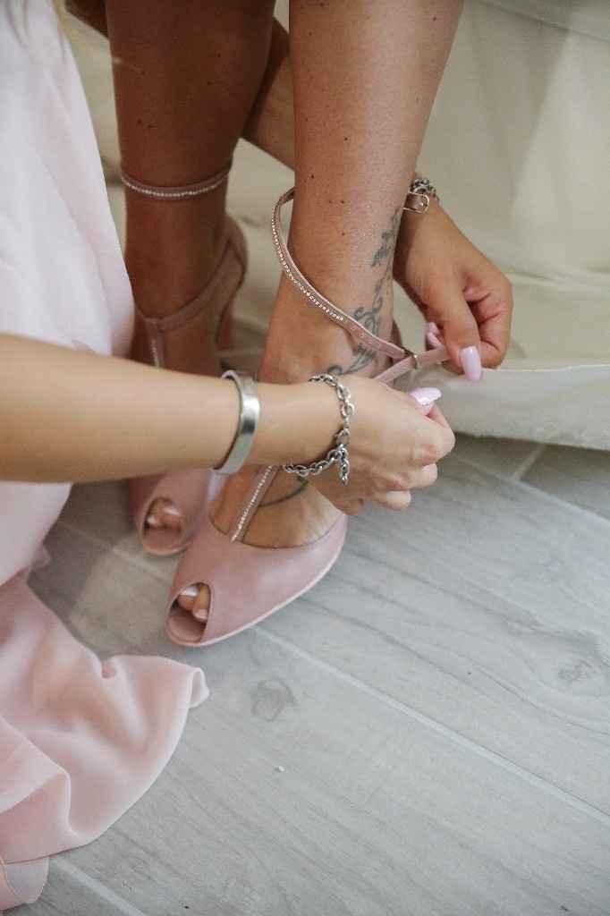 Ecco le scarpe del prima durante ..... e dopo la cerimonia - 1