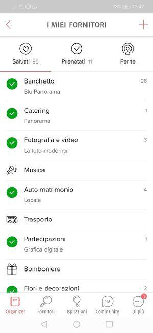 Condividi lo screenshot dei tuoi fornitori - 1