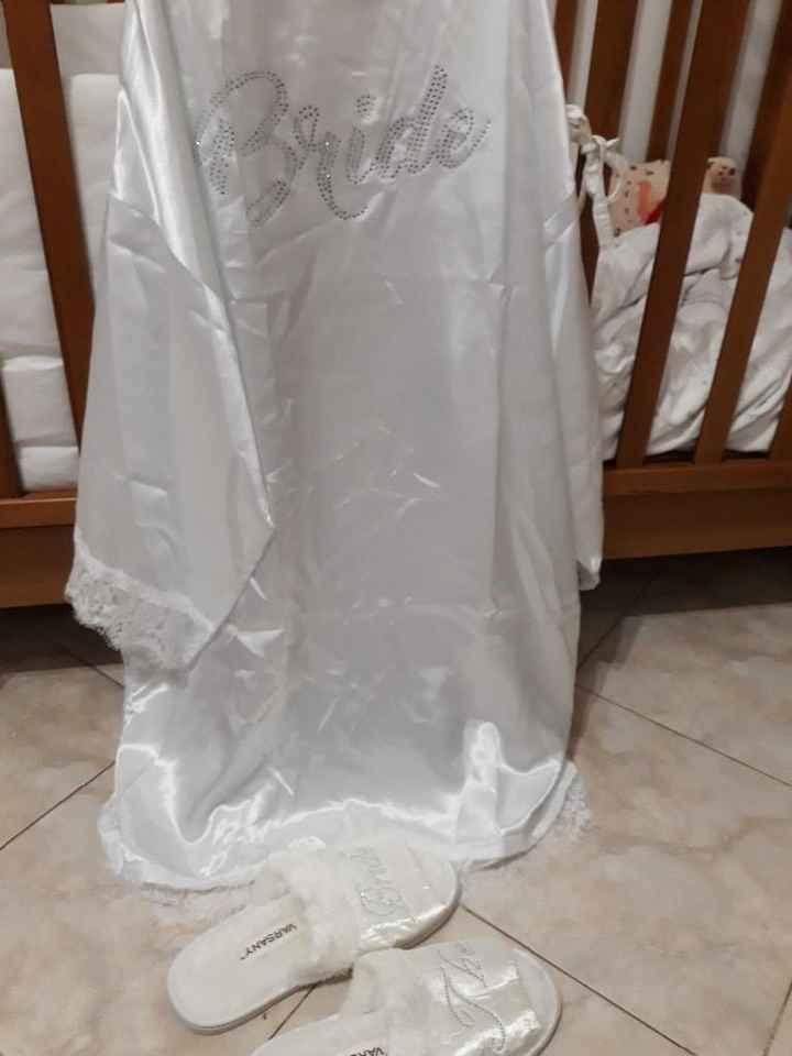Vestaglia sposa ! 👰 6