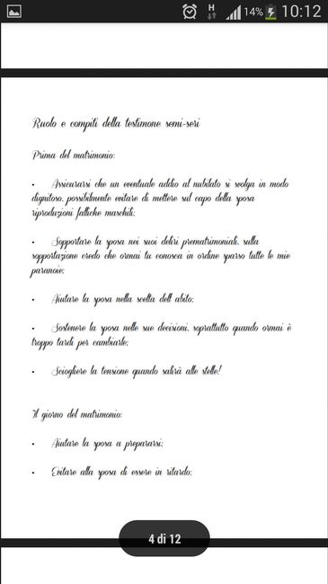 Manuale perfetta testimone.. - 4