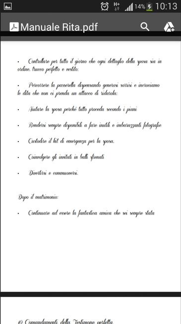 Manuale perfetta testimone.. - 5