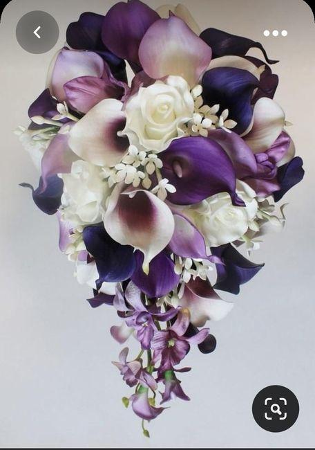 Bouquet a cascata 1