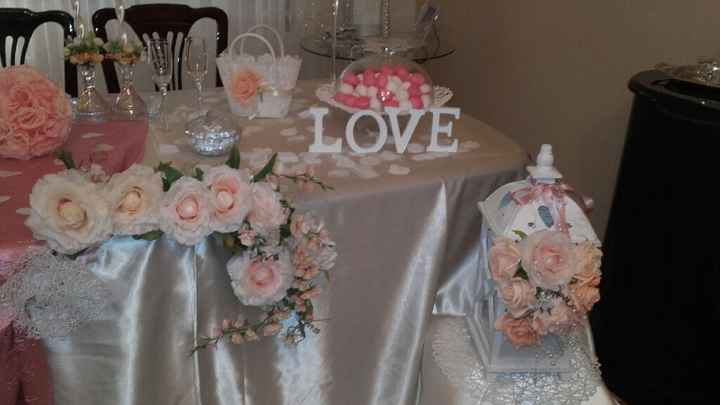 Tavolo sposa 😊 - 2