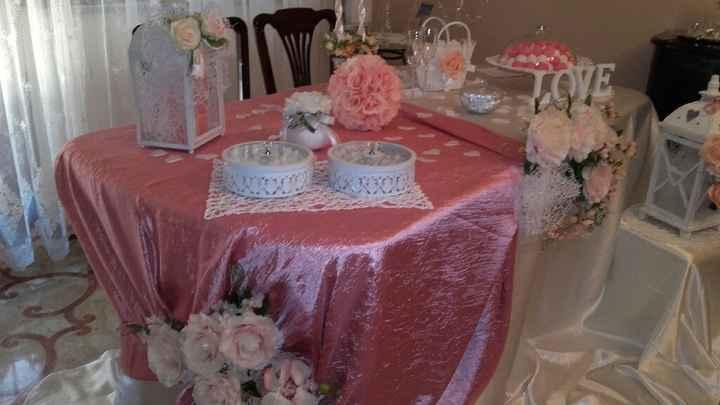Tavolo sposa 😊 - 1