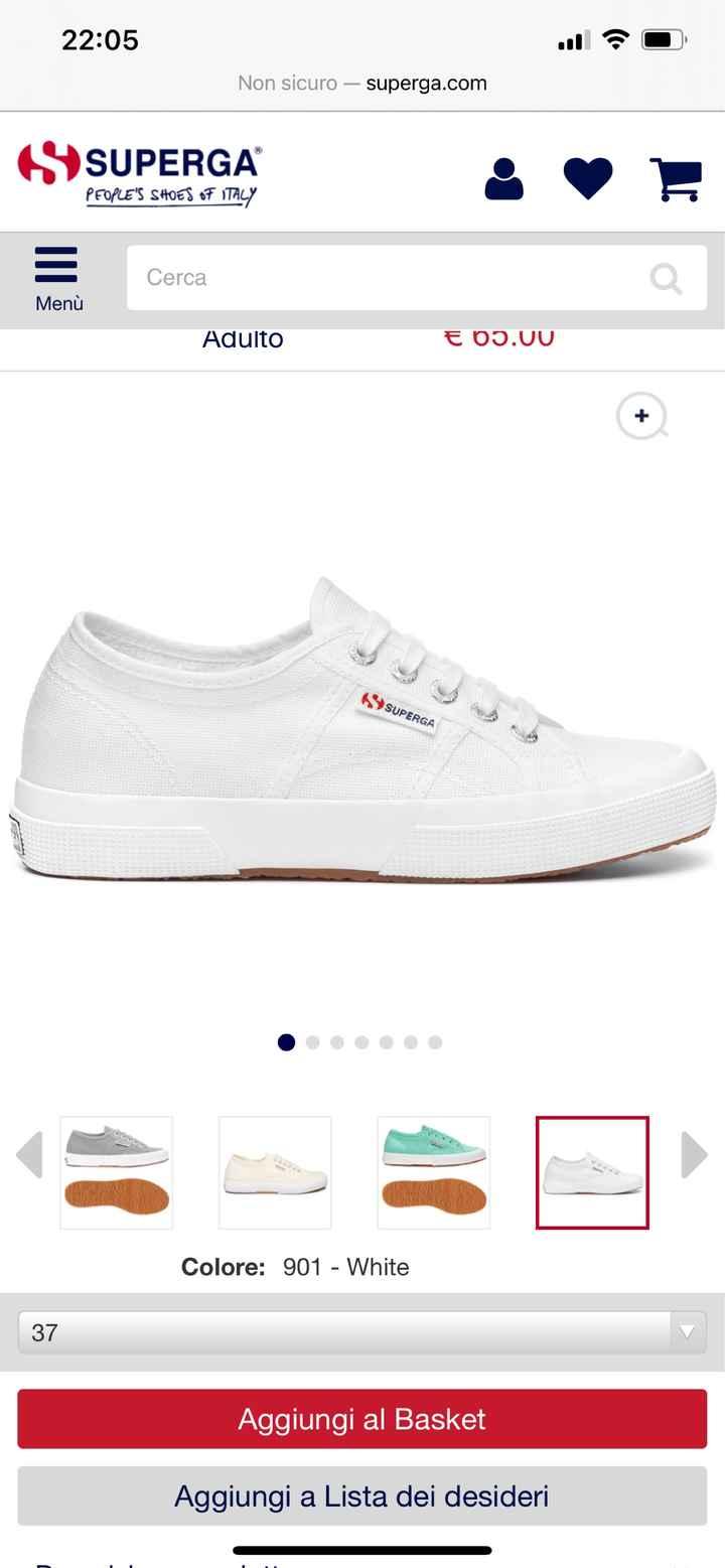 Cambio scarpa. - 1