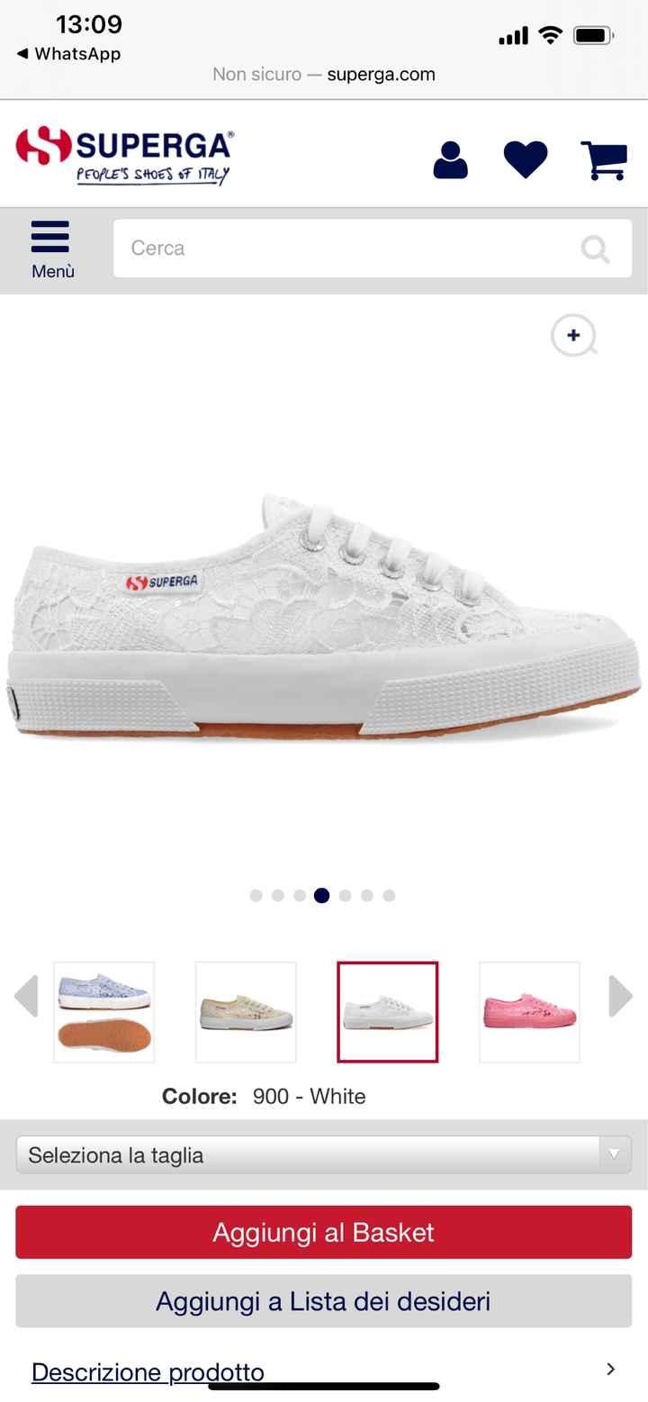 Cambio scarpa. - 2