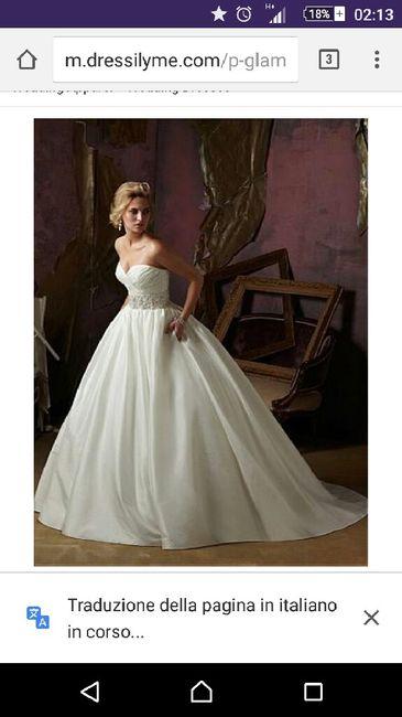 L'abito da sposa di crystle stewart - 1