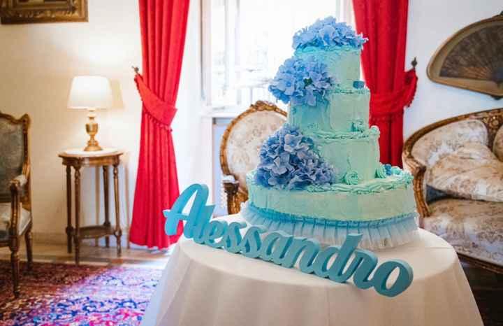 Torta battesimo - 1