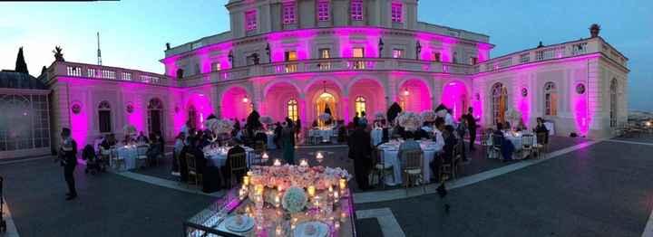 Illuminazione rosa