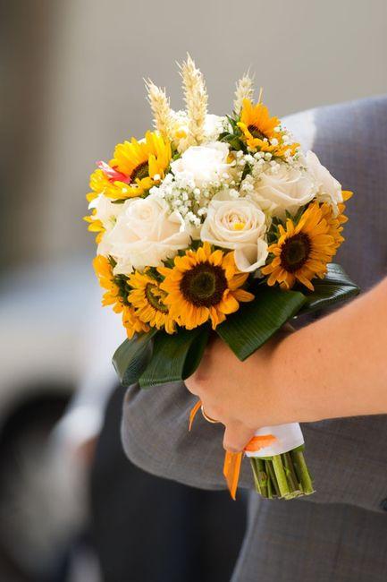 Idee Matrimonio Girasoli : Bouquet colorato organizzazione matrimonio forum