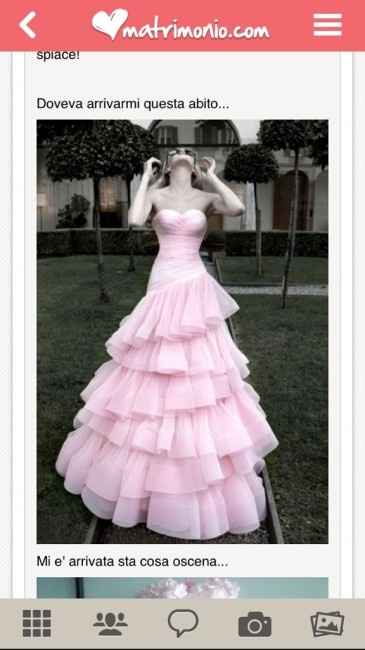 Acquistare su internet l'abito da sposa - 1