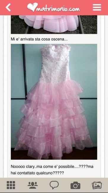 Acquistare su internet l'abito da sposa - 2