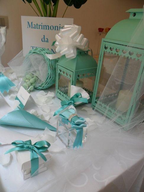 Partecipazioni Matrimonio Azzurro Tiffany : Bomboniere organizzazione matrimonio forum