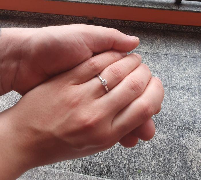 I vostri anelli di fidanzamento: vogliamo vederli! 7