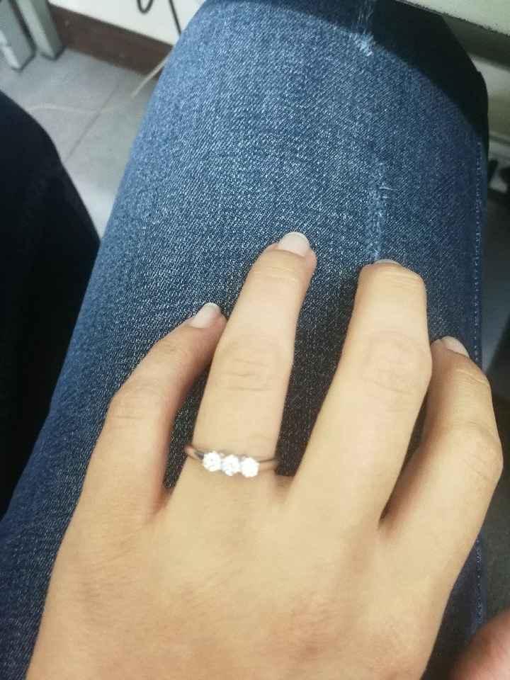 Anello proposta di matrimonio - 1