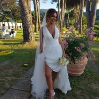 Da 1 a 10 quanto vi piace questo look di nozze? 👰 - 1