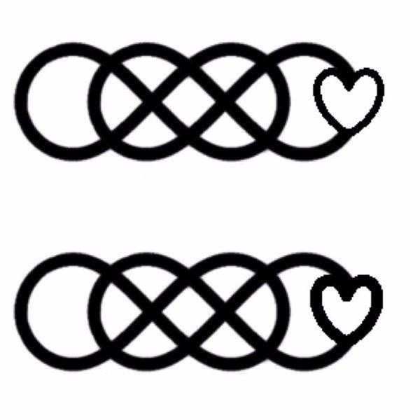 infinito per infinito con cuore