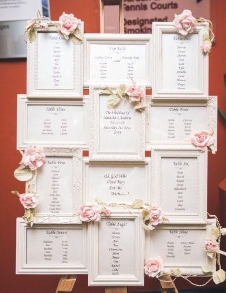 Tableau con multicornici organizzazione matrimonio for Una cornice di case