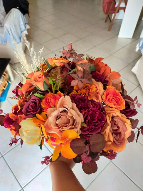 Il mio bouquet di stoffa 1