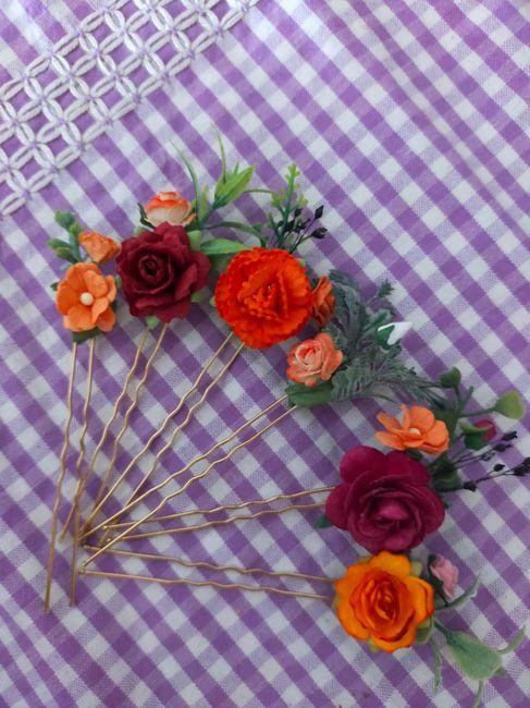 Il mio bouquet di stoffa 3