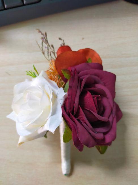 Il mio bouquet di stoffa 4