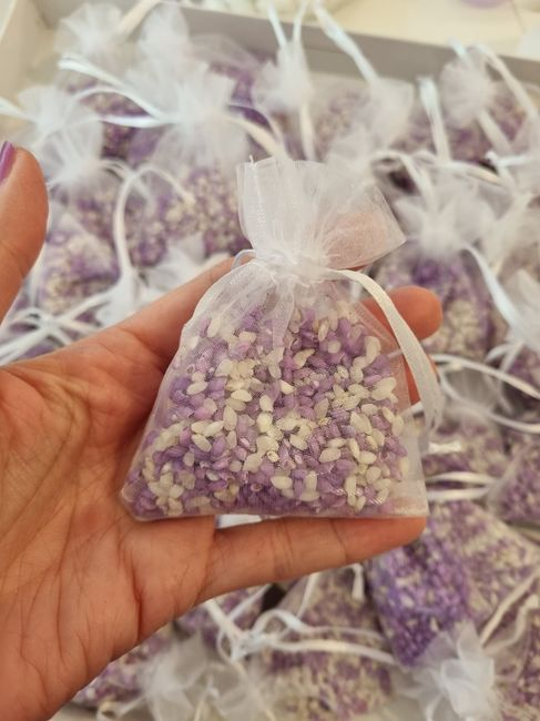 Sacchetti riso e petali - 1