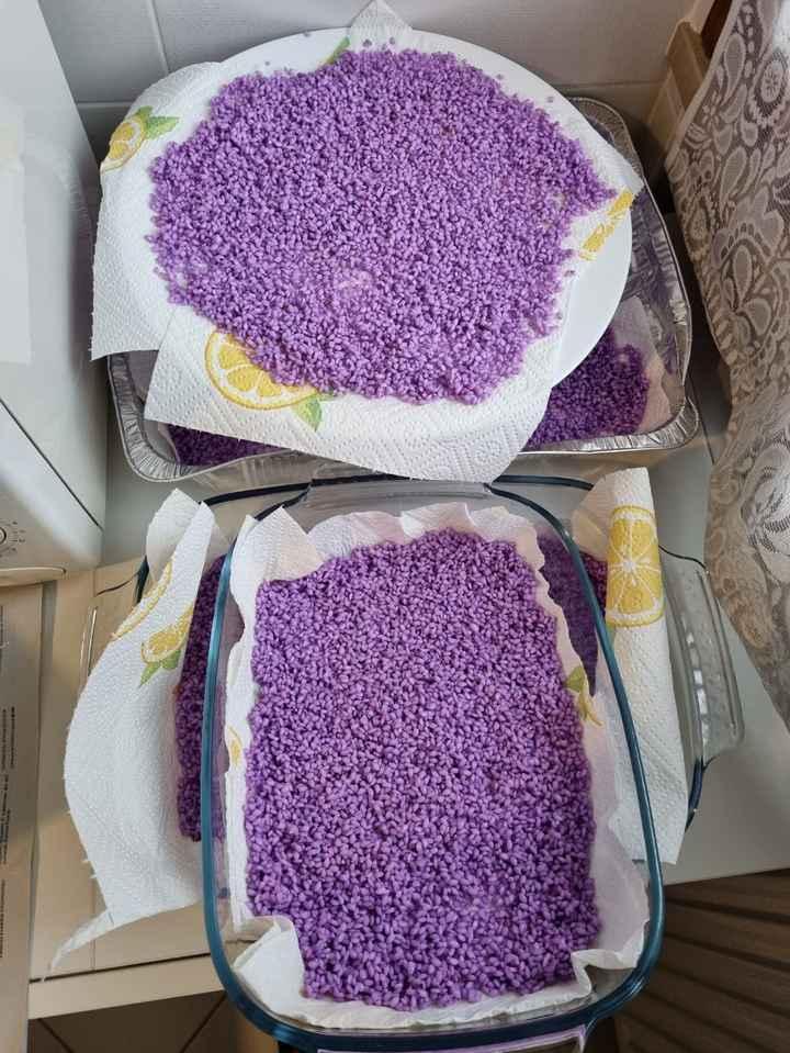 Come colorare il riso..tutto quello che c'è da sapere 💜 - 1