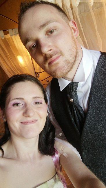 Il primo Selfie da sposati!! 😜❤️📷💒 4