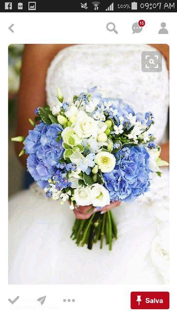Bouquet Sposa Carta Da Zucchero.Bouquet Azzurri Organizzazione Matrimonio Forum Matrimonio Com