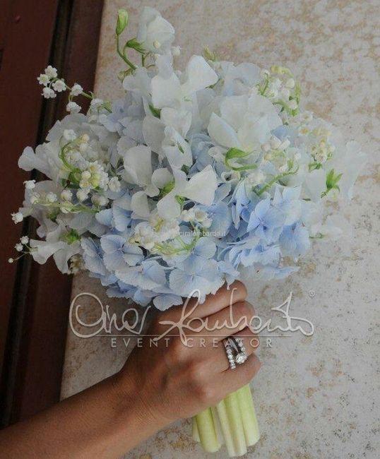Matrimonio Bianco E Azzurro : Bouquet azzurri pagina organizzazione matrimonio