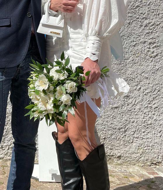 ☘️ Mazzolino di fiori per le Promesse di Matrimonio 💐 9