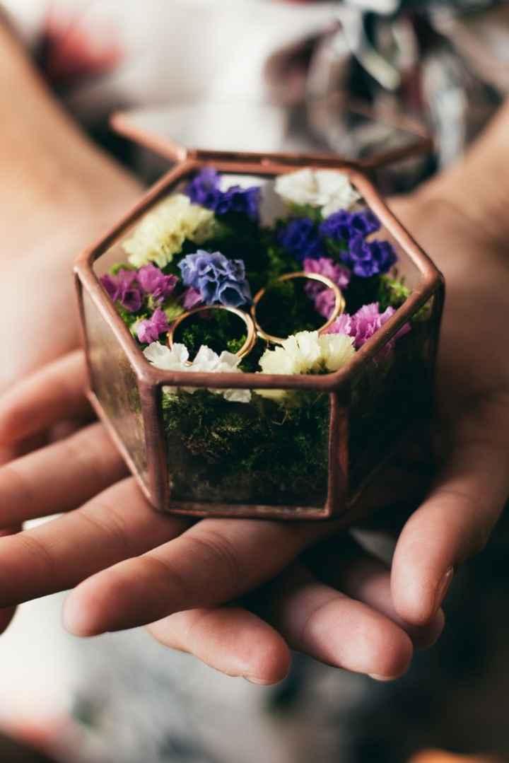 Consiglio porta fedi floreale - 1
