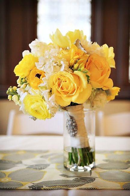 Matrimonio In Giallo E Bianco : Matrimonio bianco giallo e arancio pagina