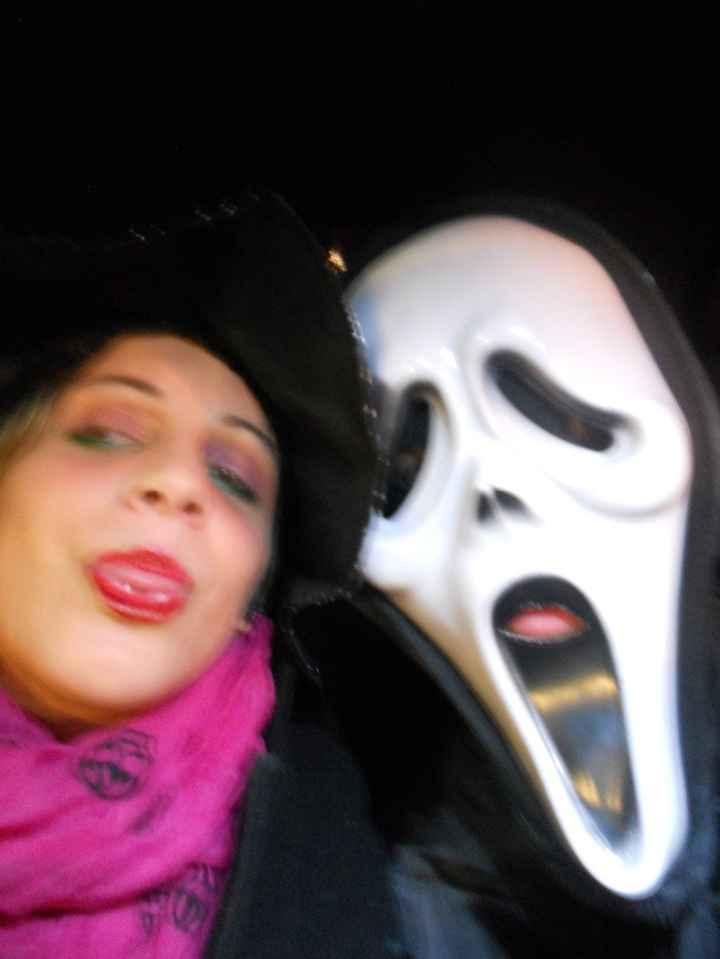 io e il mio Amore ad Halloween l'anno scorso ahahahahah