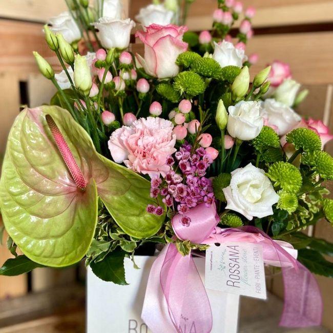 L'anthurium nelle composizioni floreali 3