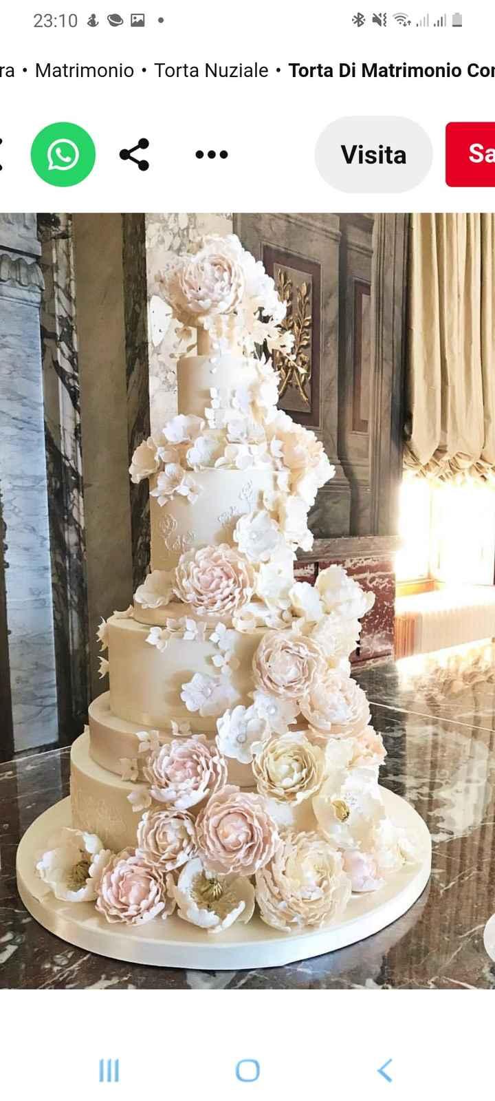 Torta nuziale: bianca, colorata o... 1
