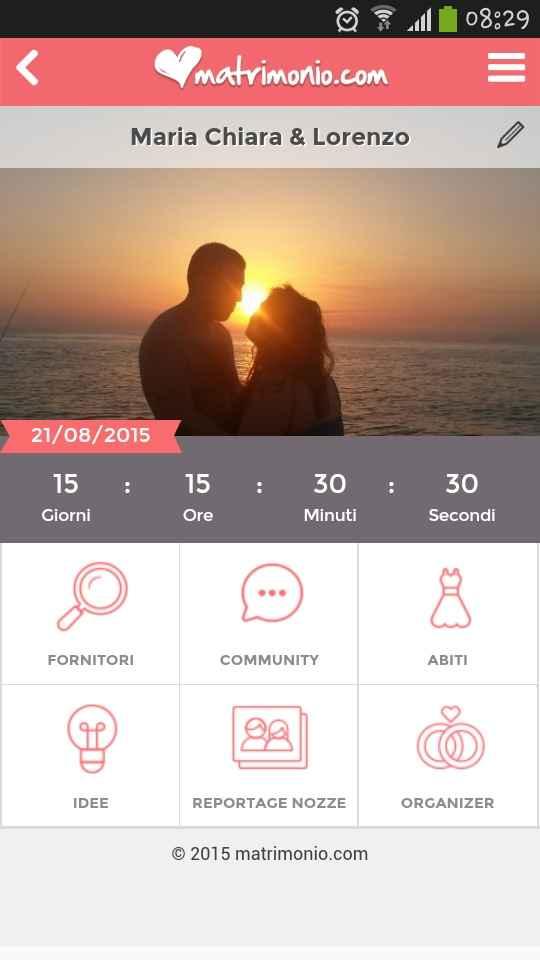 Countdown matrimonio.com - 1