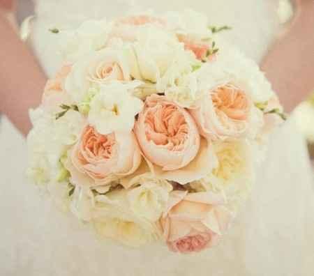 bouquet rose e peonie rosa cipria