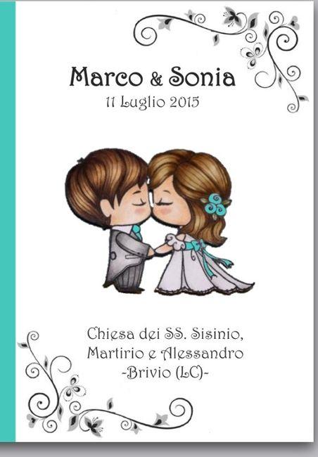 Amato Copertina libretto messa - Organizzazione matrimonio - Forum  FB94