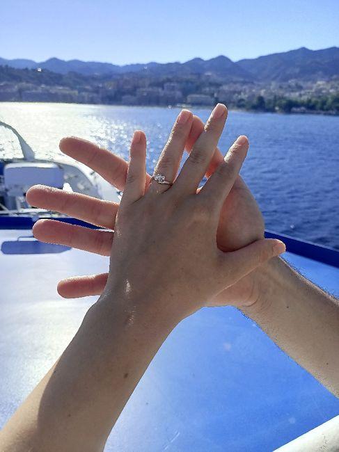 E ora mostraci una foto del tuo anello di fidanzamento! 15