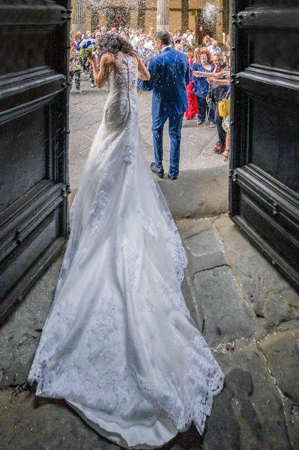 Il vostro vestito da sposa ha la coda? 2