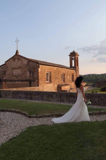 Il vostro vestito da sposa ha la coda? 3
