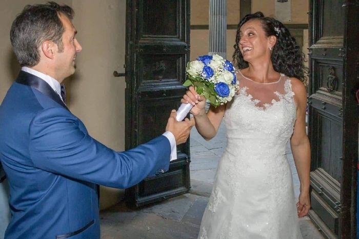 Bouquet da sposa total white o colorato?💐 1