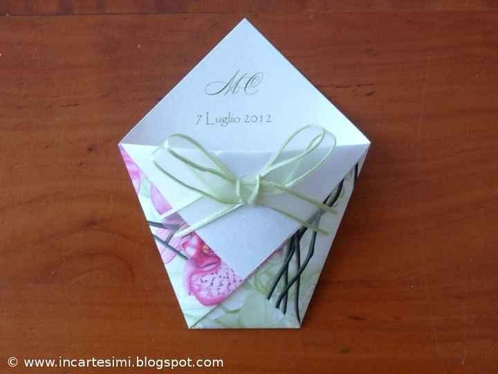 esempio bustina origami
