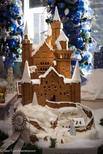 Christmas wedding cake! 13