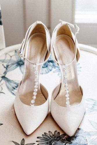 Calzatura sposa sotto vestito con spacco 2